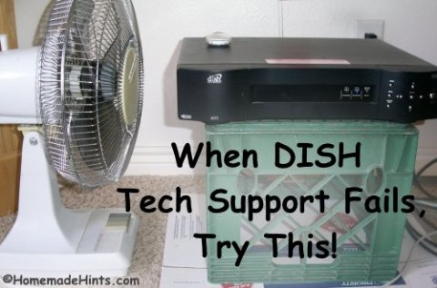 Dish network dvr receiver not