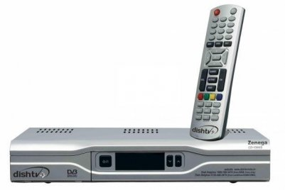 Dish tv receiver, tv receiver