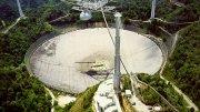 Arecibo satellite dish