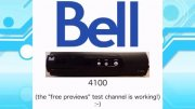 Bell satellite TV receivers