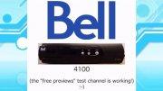 Bell satellite TV receivers