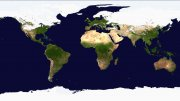 Recent satellite images of Earth