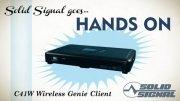 Wireless DirecTV satellite receiver