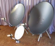 Free To Air Satellite TV dishes