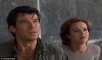GoldenEye: In 1995's GoldenEye, pictured, the 17th James Bond film and the first featuring Pierce Brosnan as Bond, climactic scenes of the hero on a satellite dish were shot at Arecibo Observatory