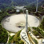 Arecibo satellite dish
