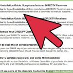 How to set up DirecTV satellite receiver?